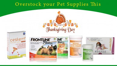 stock pet supplies on thanksgiving day